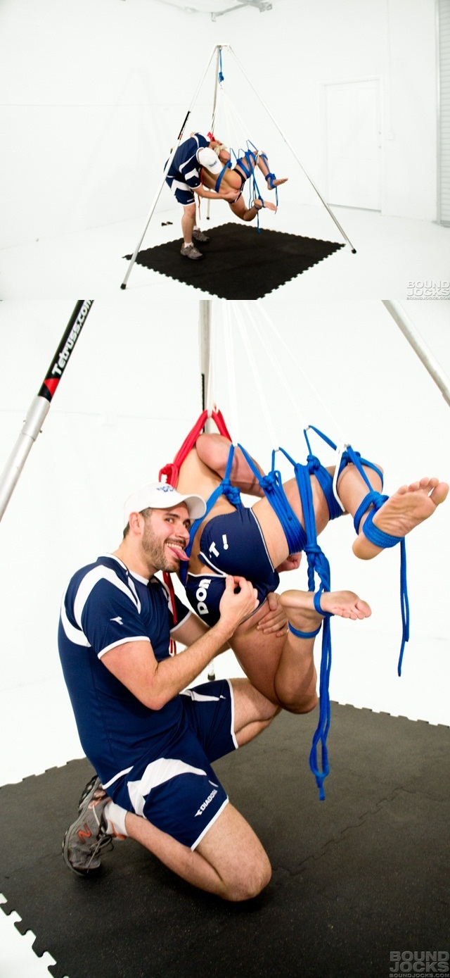 Bound Jocks Marc Dylan and Knotty Brent chiseled absexposed arm pits tickling his balls 9 download full movie torrents and gay porn photo gallery 4 Bound Jocks: Marc Dylan, Knotty Brent