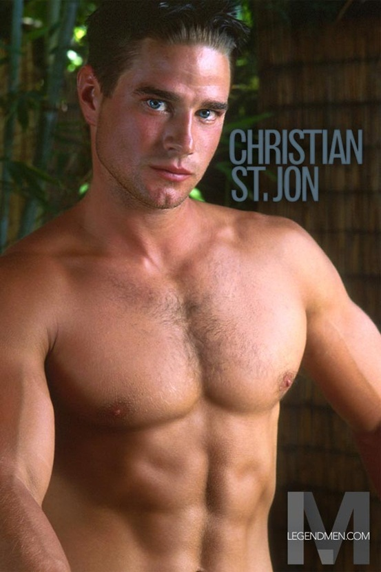 Legend Men Hot naked muscle hunks Christian St.Jon Ripped Muscle Bodybuilder Strips Naked and Strokes His Big Hard Cock photo Top 100 worlds sexiest naked muscle men at Legend Men (21 30)