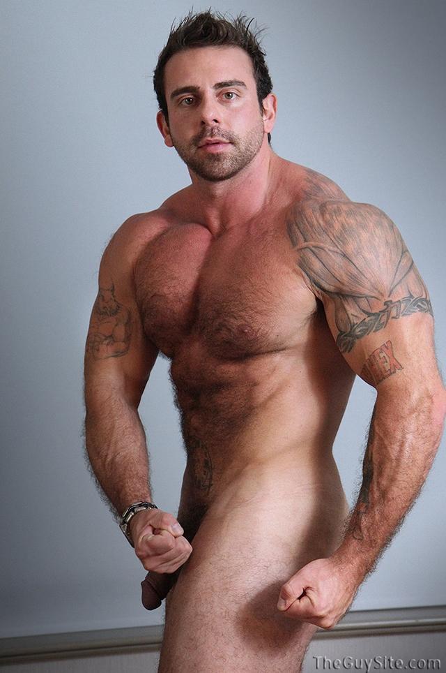 Guy-Site--Muscle-hunk-bear-Xavier-big-muscles-dark-fur-tattooed-stud-masturbates-tattoos-006-male-tube-red-tube-gallery-photo