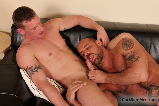 Jake Deckard & Kieron Ryan at CockSure Men