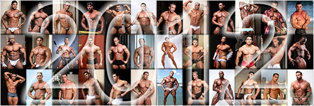 Samuel Vieira – Muscle Hunks man of the year 2012!