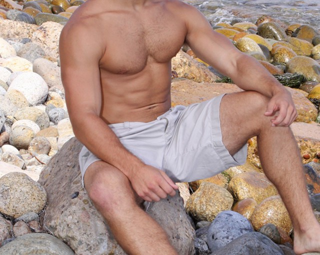 Sean Cody Deron my friend recorded a video of me running around wearing a bikini!