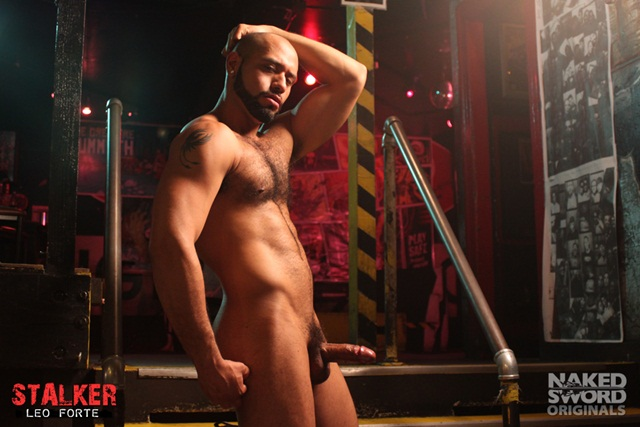 Stalker Episode The Shoot with Christian Wilde & Leo Forte at Naked Sword