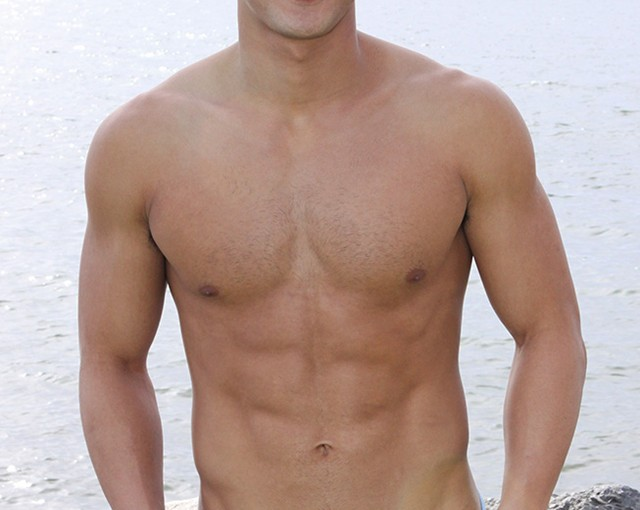 Naked college hunk Ken at Sean Cody