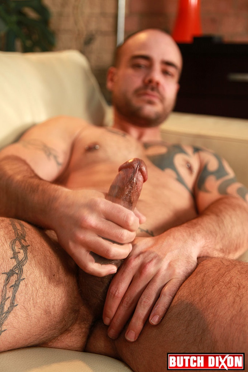 ButchDixon-tattoo-muscle-guy-David-James-ex-straight-soldier-dark-tanned-muscular-hairy-untrimmed-pubes-thick-stiff-cock-jerking-009-gay-porn-sex-gallery-pics-video-photo