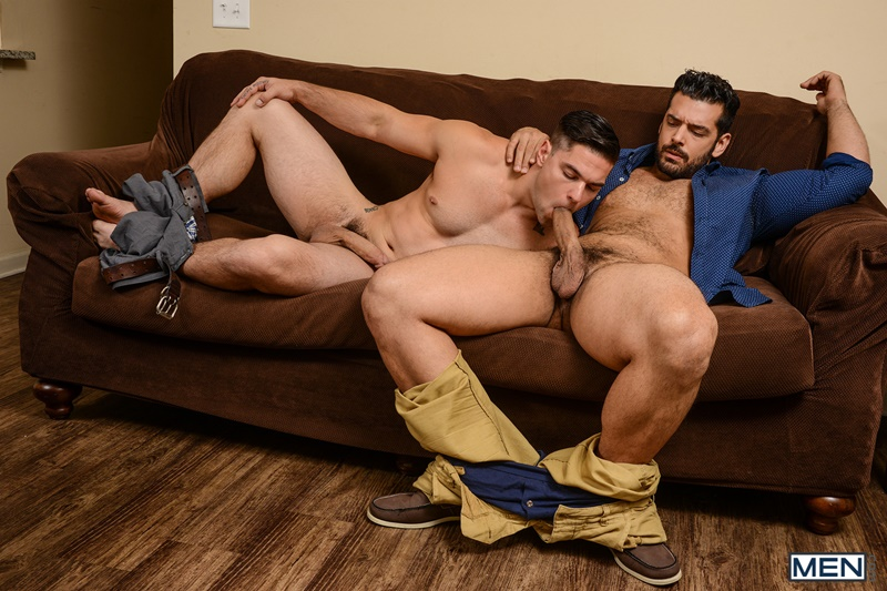Sexy hairy hunk Aspen and Marcus Ruhl hot ass fucking ...