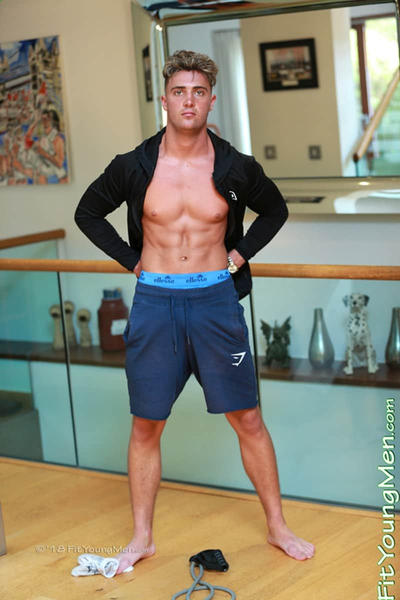 Men for Men Blog FitYoungMen-Sexy-young-sports-dude-Simon-Broad-strips-tight-undies-wanking-big-uncut-cock-massive-load-hot-boy-cum-003-gay-porn-pics-gallery Sexy young sports dude Simon Broad strips down to his tight undies wanking his big uncut cock to a massive load of hot boy cum Fit Young Men
