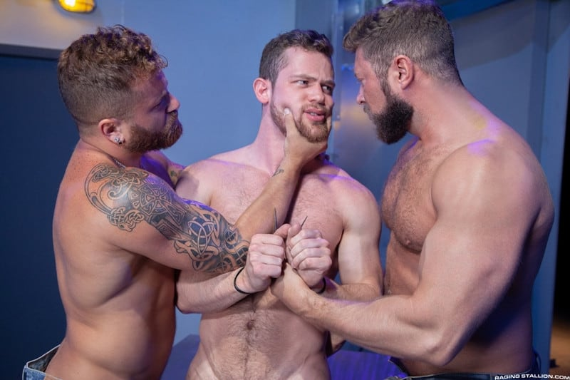 Men for Men Blog Johnny-Ryder-Kurtis-Wolfe-Riley-Mitchell-Hardcore-ass-fucking-threesome-big-dicks-suck-fuck-RagingStallion-002-gay-porn-pictures-gallery Hardcore ass fucking threesome Johnny Ryder, Kurtis Wolfe and Riley Mitchell big dicks suck n fuck Raging Stallion