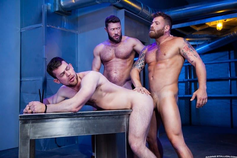 Men for Men Blog Johnny-Ryder-Kurtis-Wolfe-Riley-Mitchell-Hardcore-ass-fucking-threesome-big-dicks-suck-fuck-RagingStallion-010-gay-porn-pictures-gallery Hardcore ass fucking threesome Johnny Ryder, Kurtis Wolfe and Riley Mitchell big dicks suck n fuck Raging Stallion