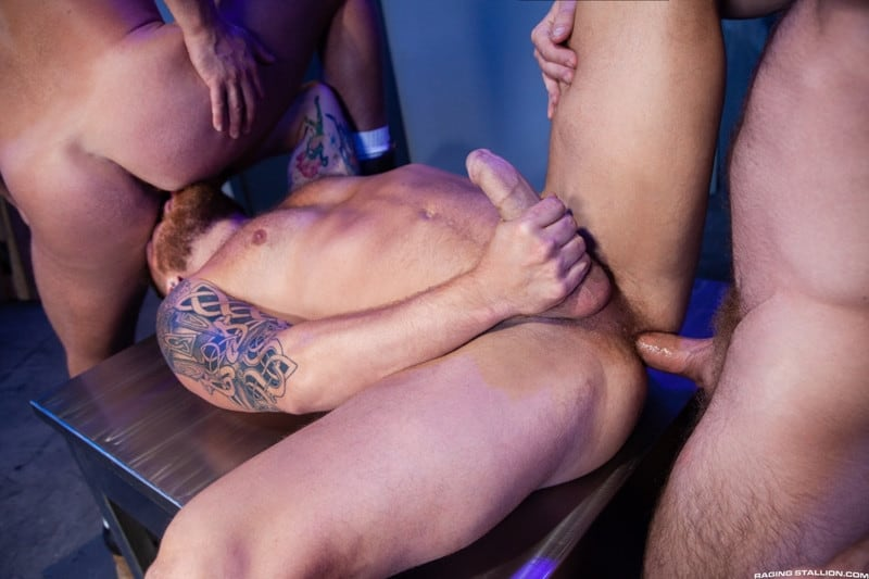 Men for Men Blog Johnny-Ryder-Kurtis-Wolfe-Riley-Mitchell-Hardcore-ass-fucking-threesome-big-dicks-suck-fuck-RagingStallion-012-gay-porn-pictures-gallery Hardcore ass fucking threesome Johnny Ryder, Kurtis Wolfe and Riley Mitchell big dicks suck n fuck Raging Stallion