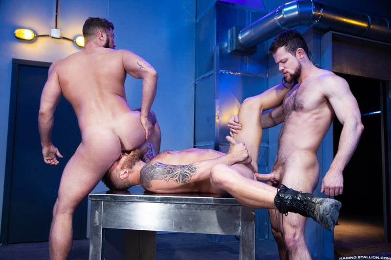 Men for Men Blog Johnny-Ryder-Kurtis-Wolfe-Riley-Mitchell-Hardcore-ass-fucking-threesome-big-dicks-suck-fuck-RagingStallion-013-gay-porn-pictures-gallery Hardcore ass fucking threesome Johnny Ryder, Kurtis Wolfe and Riley Mitchell big dicks suck n fuck Raging Stallion