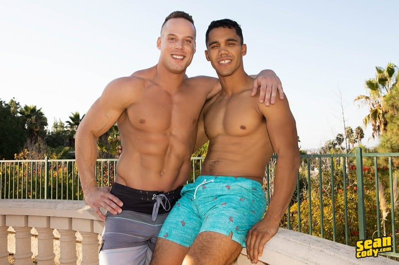Men for Men Blog Jack-Murray-bareback-anal-fucking-hot-big-thick-long-cock-suck-rimmming-bubble-butt-asshole-SeanCody-002-gay-porn-pictures-gallery Sexy young muscle boys Jack and Murray hardcore bareback ass fucking Sean Cody