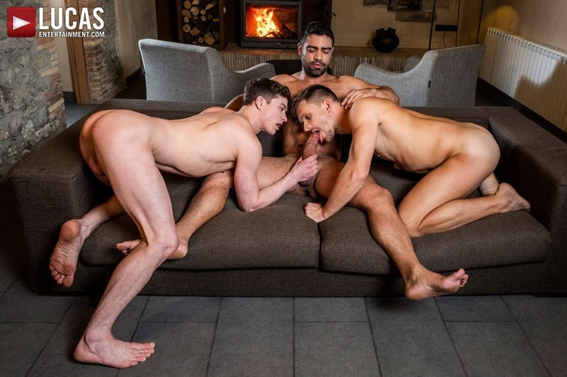 Men for Men Blog Gay-Porn-Pics-010-Andrey-Vic-Wagner-Vittoria-Ruslan-Angelo-Hot-gay-threesome-huge-dicks-double-fuck-hot-muscle-ass-LucasEntertainment Hot gay threesome Andrey Vic and Wagner Vittoria's huge dicks double-fuck Ruslan Angelo's hot muscle ass Lucas Entertainment
